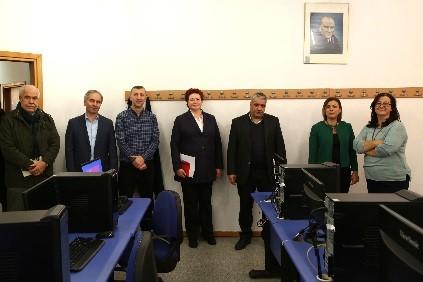 Doğuş Üniversitesi AR-GE Yönlü Bilgisayar Laboratuvarı Açıldı