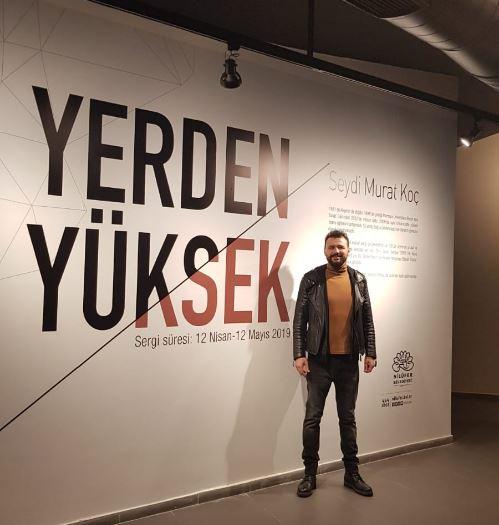 Öğr. Gör. Seydi Murat Koç'un 17. kişisel sergisi açıldı